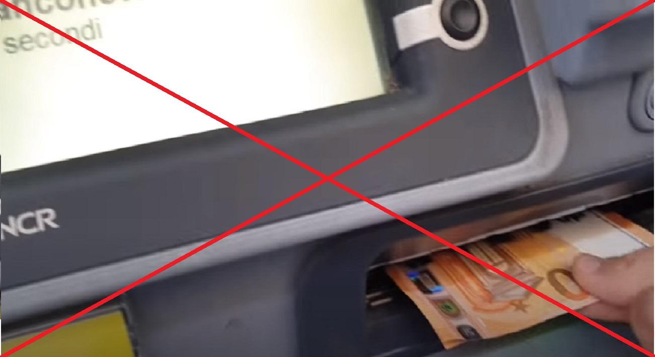 Sportello automatico ATM ING