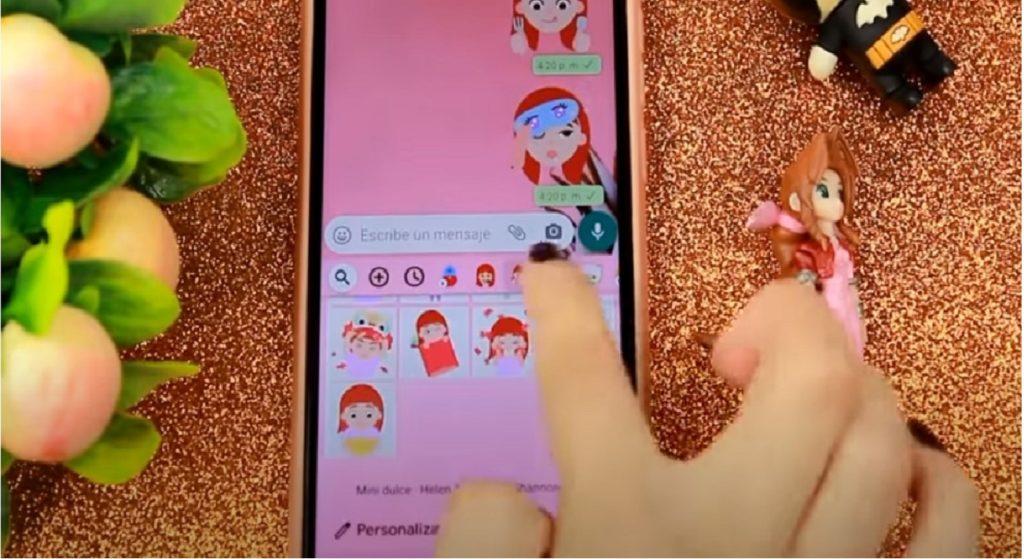 WhatsApp pink truffa