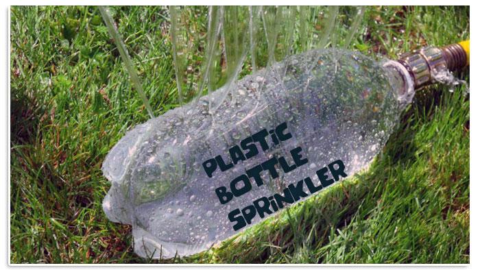 Irrigatore fai da te con bottiglia di plastica