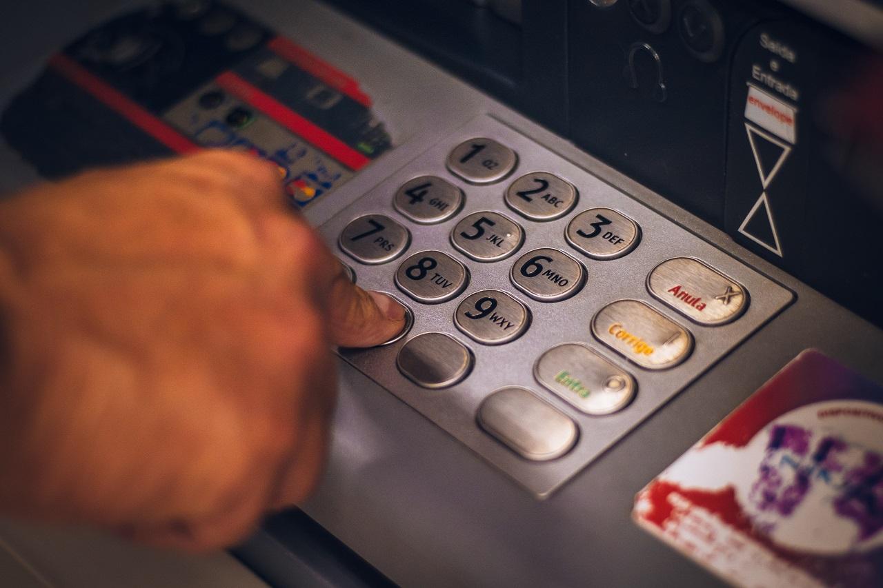 Tastierino numerico sportello bancomat