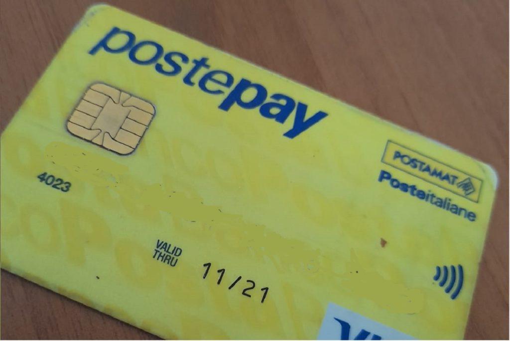 Postepay carta prepagata