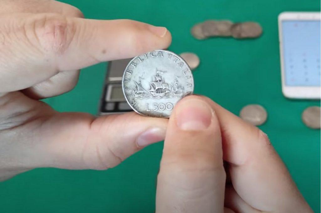 500 lire d'argento